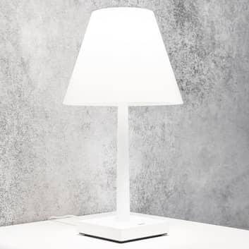 Rotaliana Dina+ akumulatorowa lampa stołowa biała