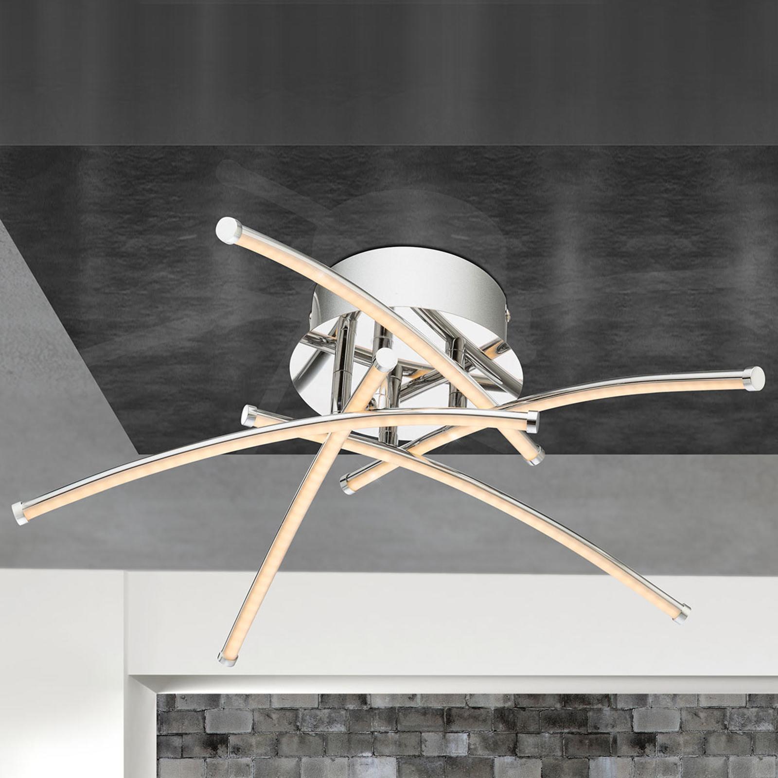 Szanghaj – lampa sufitowa LED o nowoczesnej formie