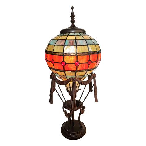 Dekoleuchte 6016, Heißluftballon, Tiffany-Dekor