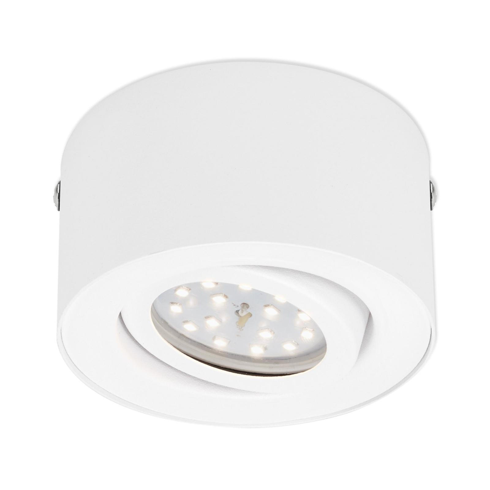 LED-takspotlight Tube 7121-016, vit