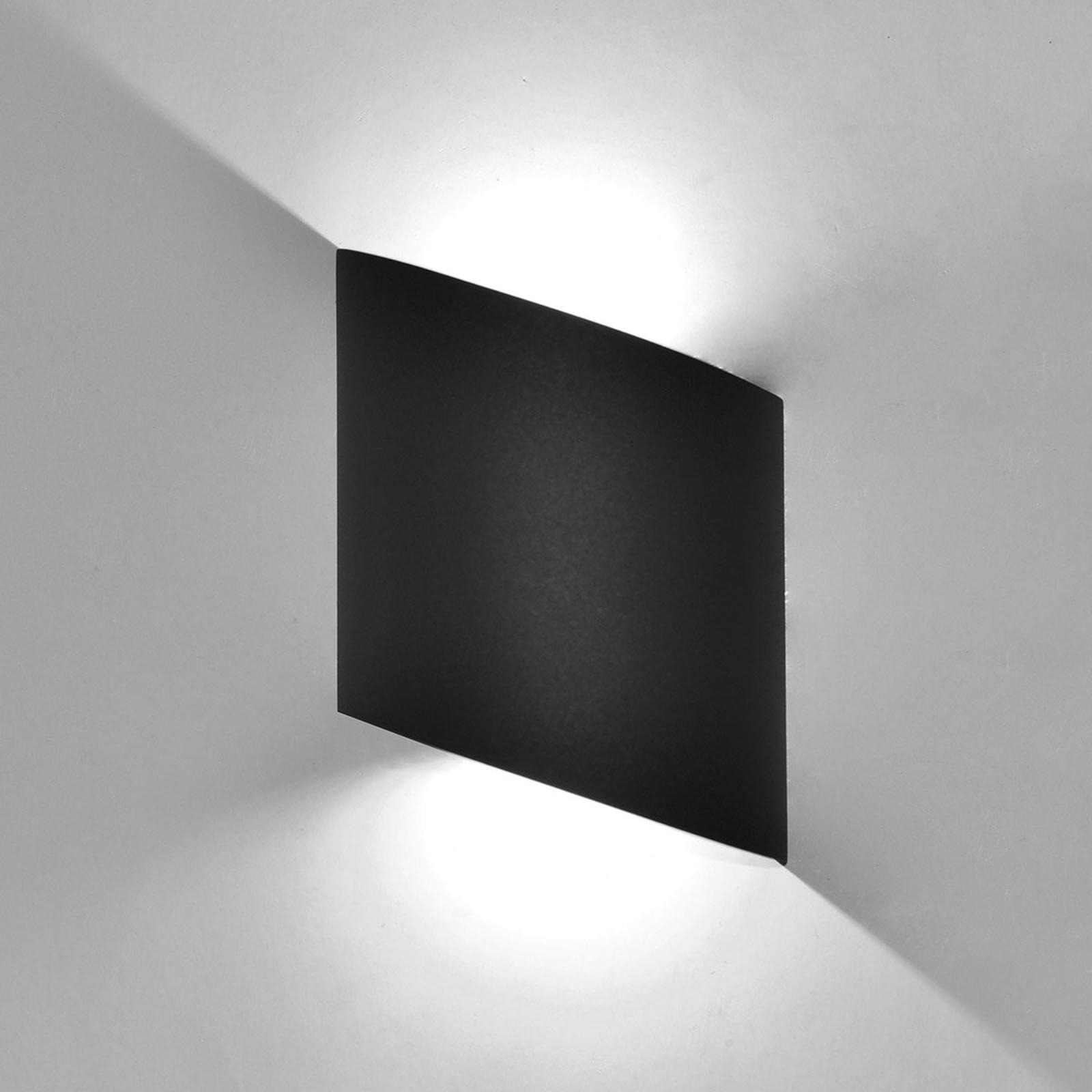 LED-Außenwandlampe Sochi in Dunkelgrau