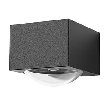Lucande Almos aplique LED exterior, angular, 1 luz