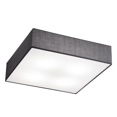 Embassy - vierkante plafondlamp uit textiel