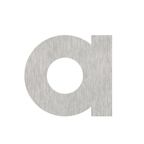 Wirkungsvolle Edelstahl-Buchstaben und Zeichen
