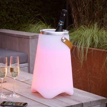 LED-Tischlampe Jamaica mit Bluetooth-Lautsprecher