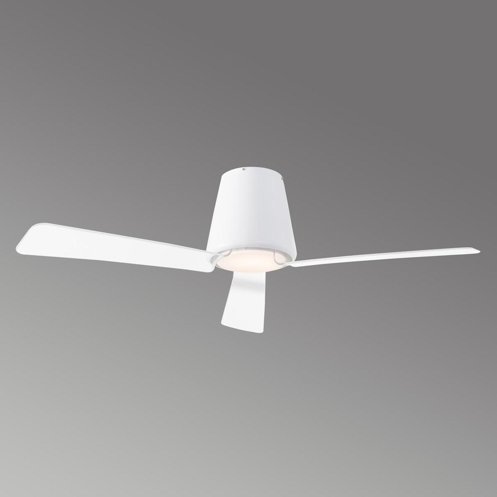 Tidløs takentilator Garbí med LED-lys