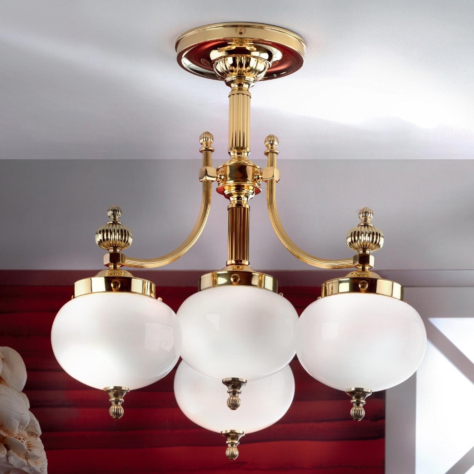 Czarująca lampa sufitowa DELIA 4-punktowa