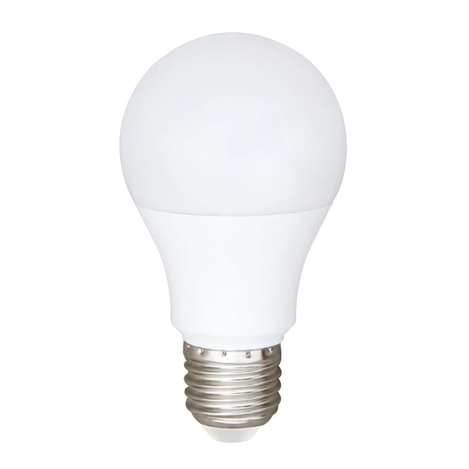 LED žárovka ARAXA E27 9W pro AC a DC, 2 700K