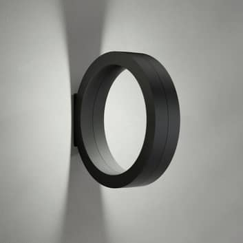 Cini&Nils Assolo - svart LED-vegglampe dimbar