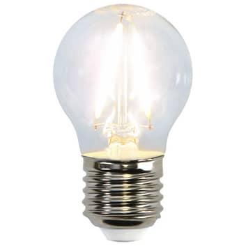LED-Miniglobe-Lampe E27 G45 1,5W 2.700K Filament