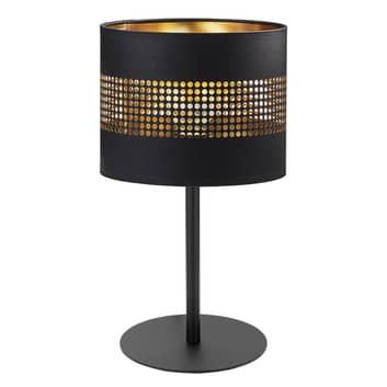 Bordslampa Tago svart/guld