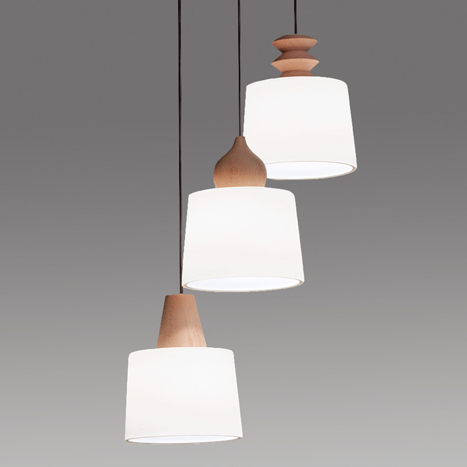 Eduardo hængelampe, 3 lyskilder