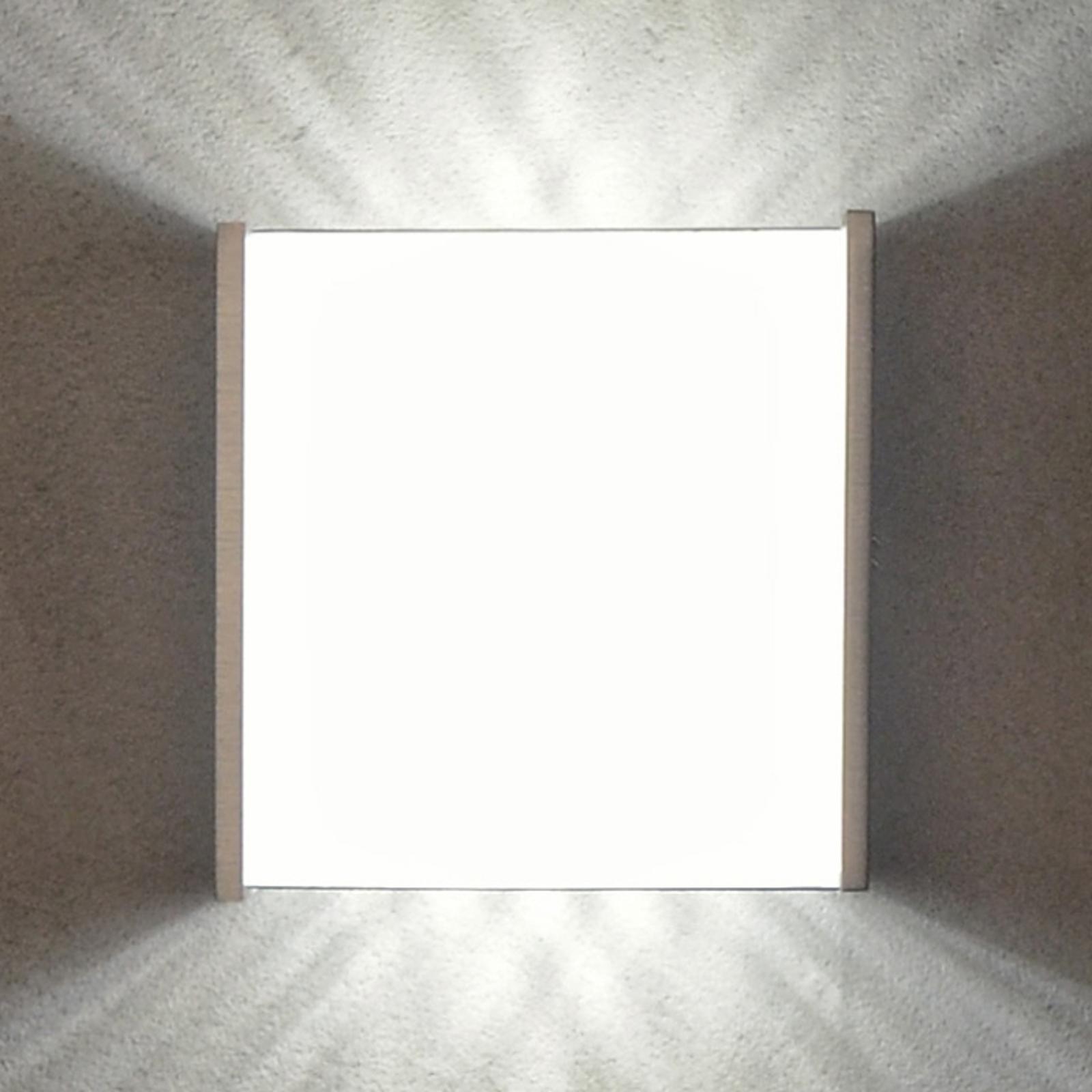 Effectvolle LED wandlamp Box