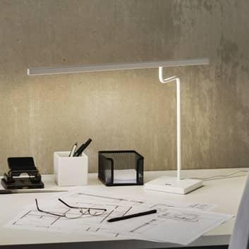 Hvit LED-skrivebordslampe MicroStick