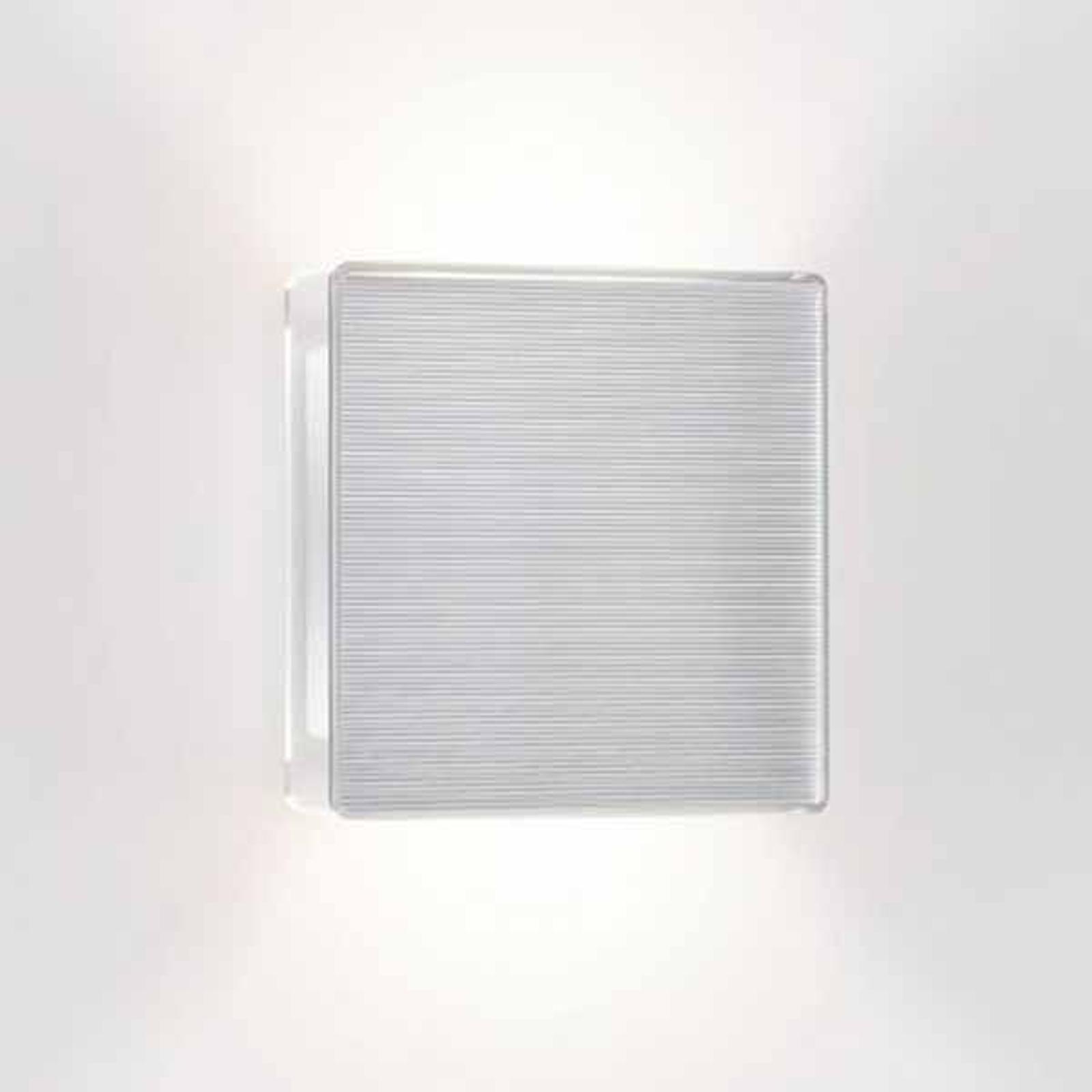 LED wandlamp App met geribbelde voorkant