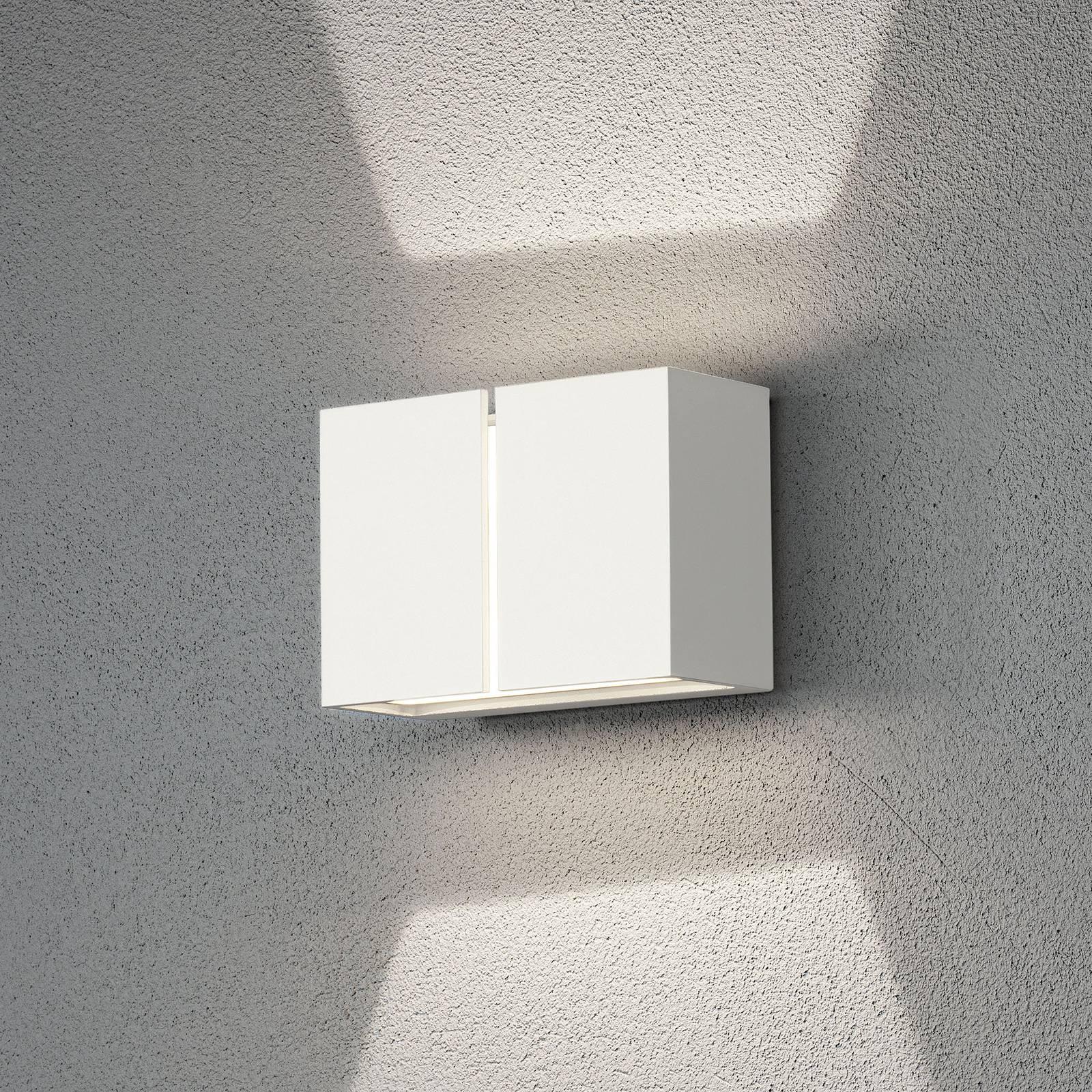 LED-Außenwandleuchte Pavia, weiß