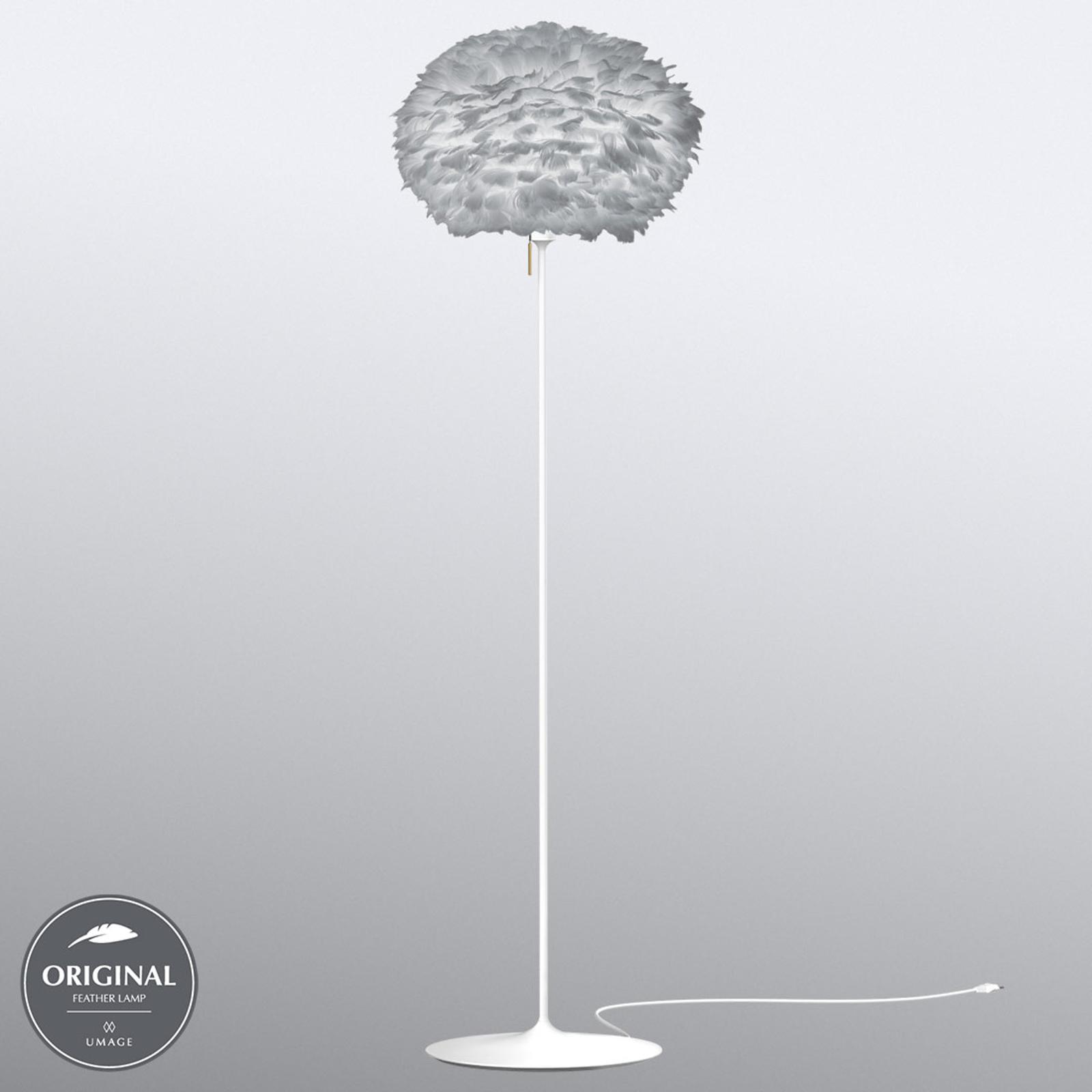UMAGE Eos medium lampadaire gris clair