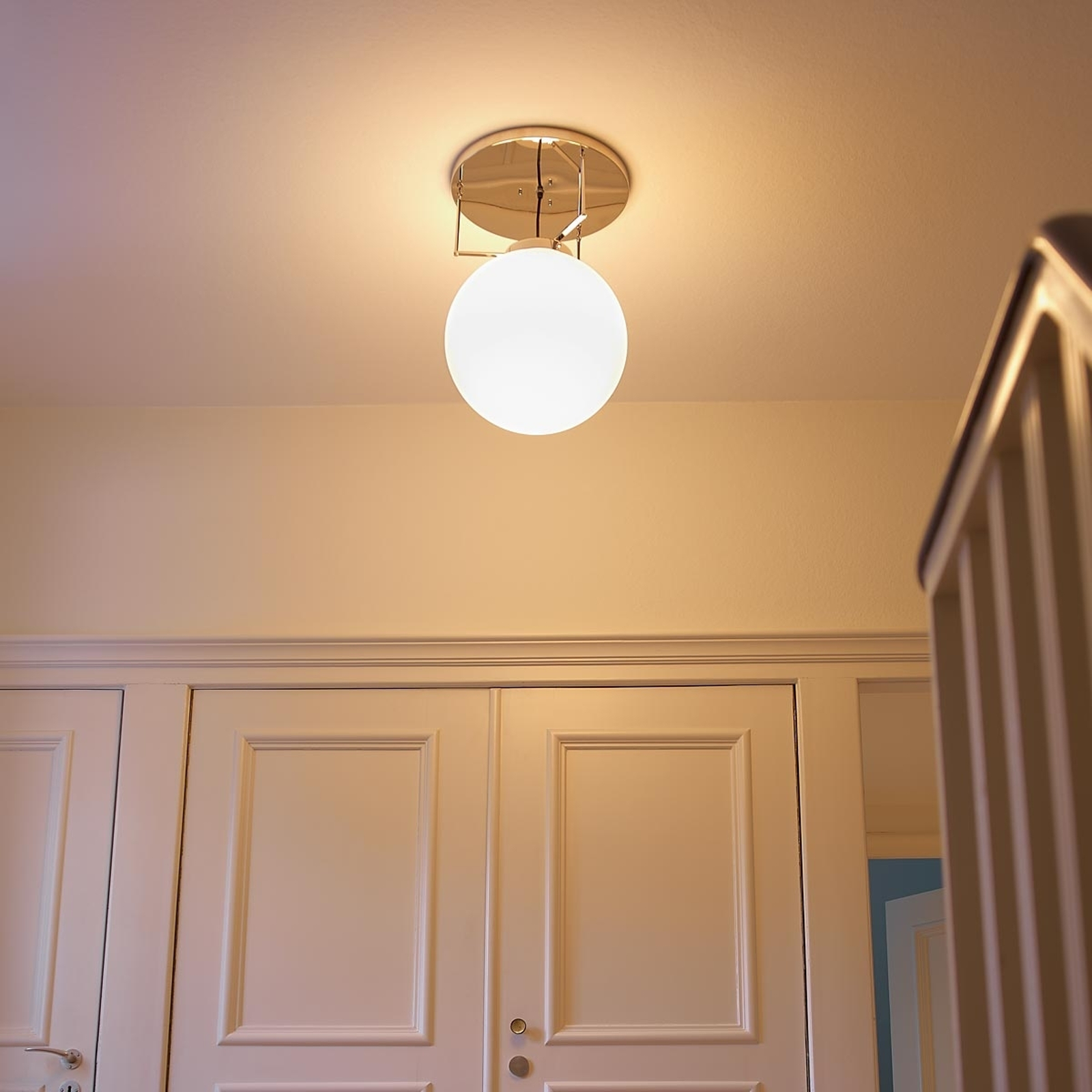 Picture of: Loftlampe Af Messing I Bauhaus Stil Lampegiganten Dk