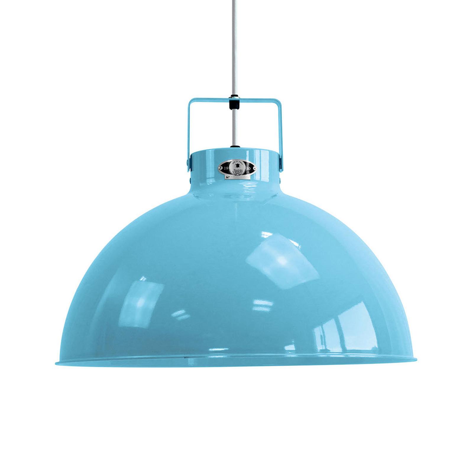 Jieldé Dante D450 hanglamp, lichtblauw, Ø 45 cm