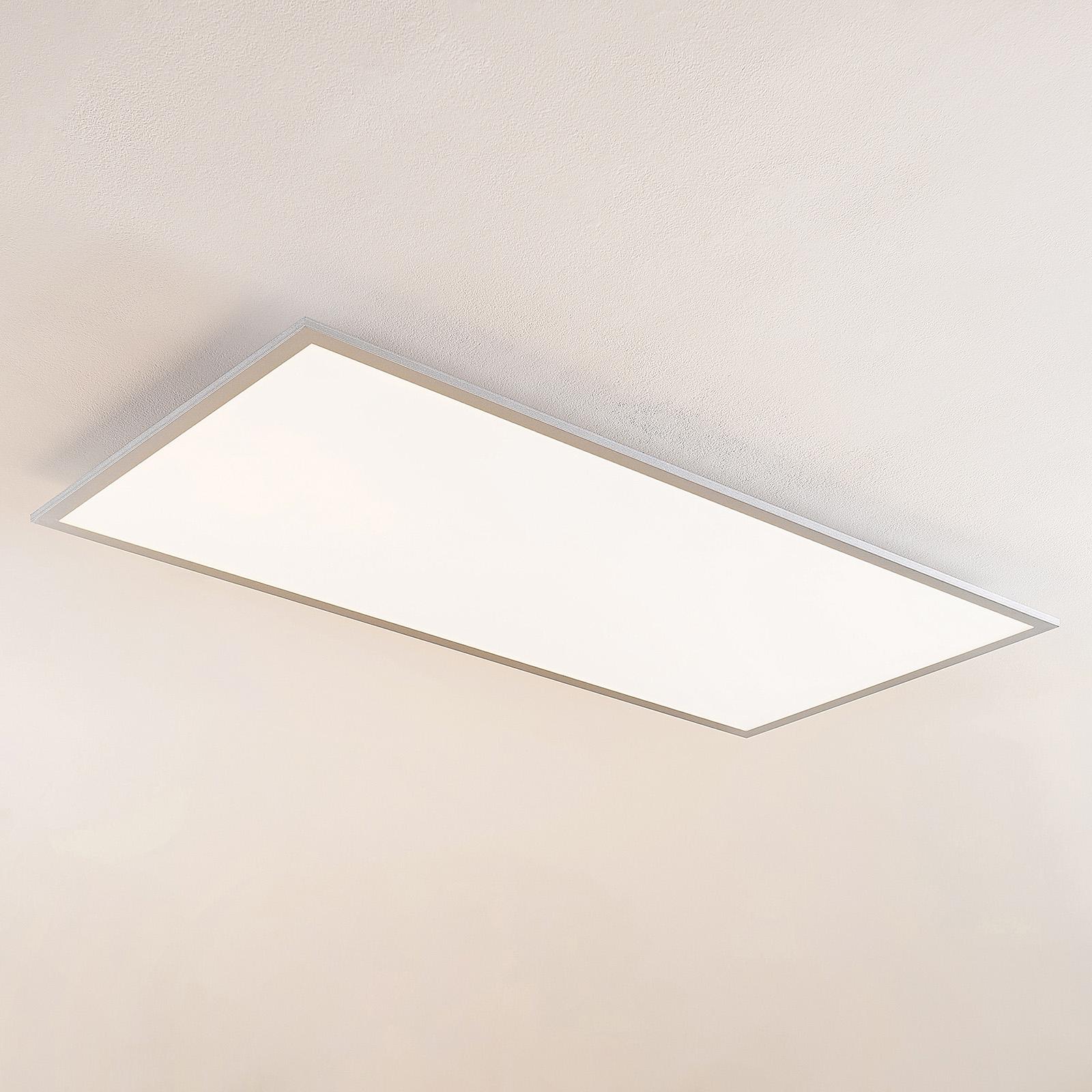 Lindby Zento panneau LED, CCT, télécommande