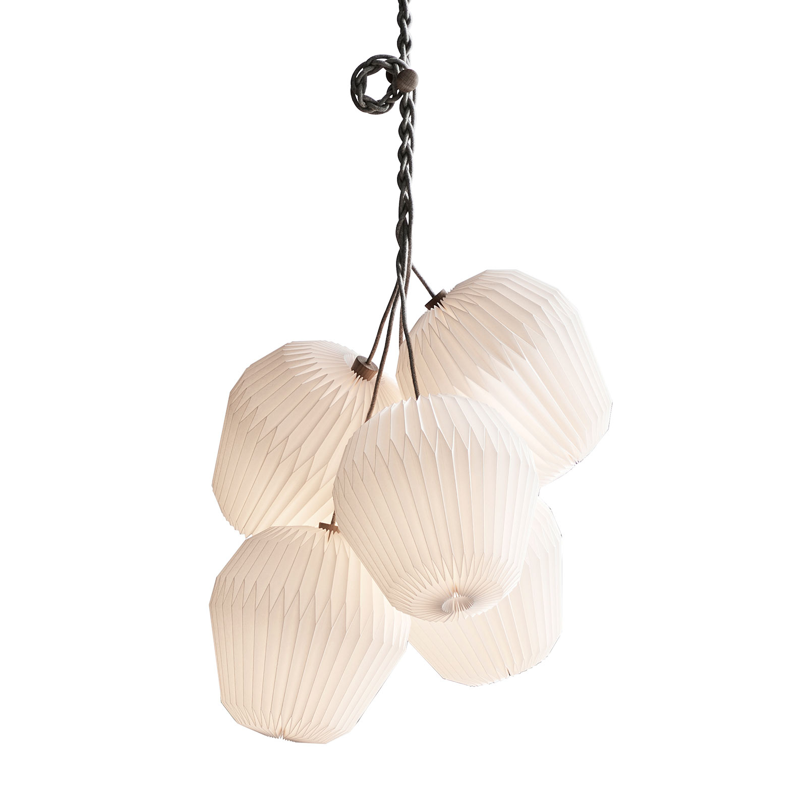 Le KLINT The Bouquet hanglamp 5-lamps Ø100cm