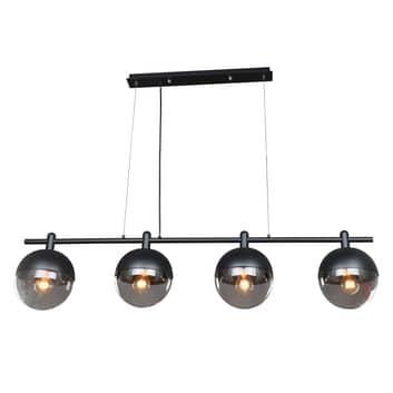 Lucande Dustian -riippuvalaisin, 4-lamppuinen