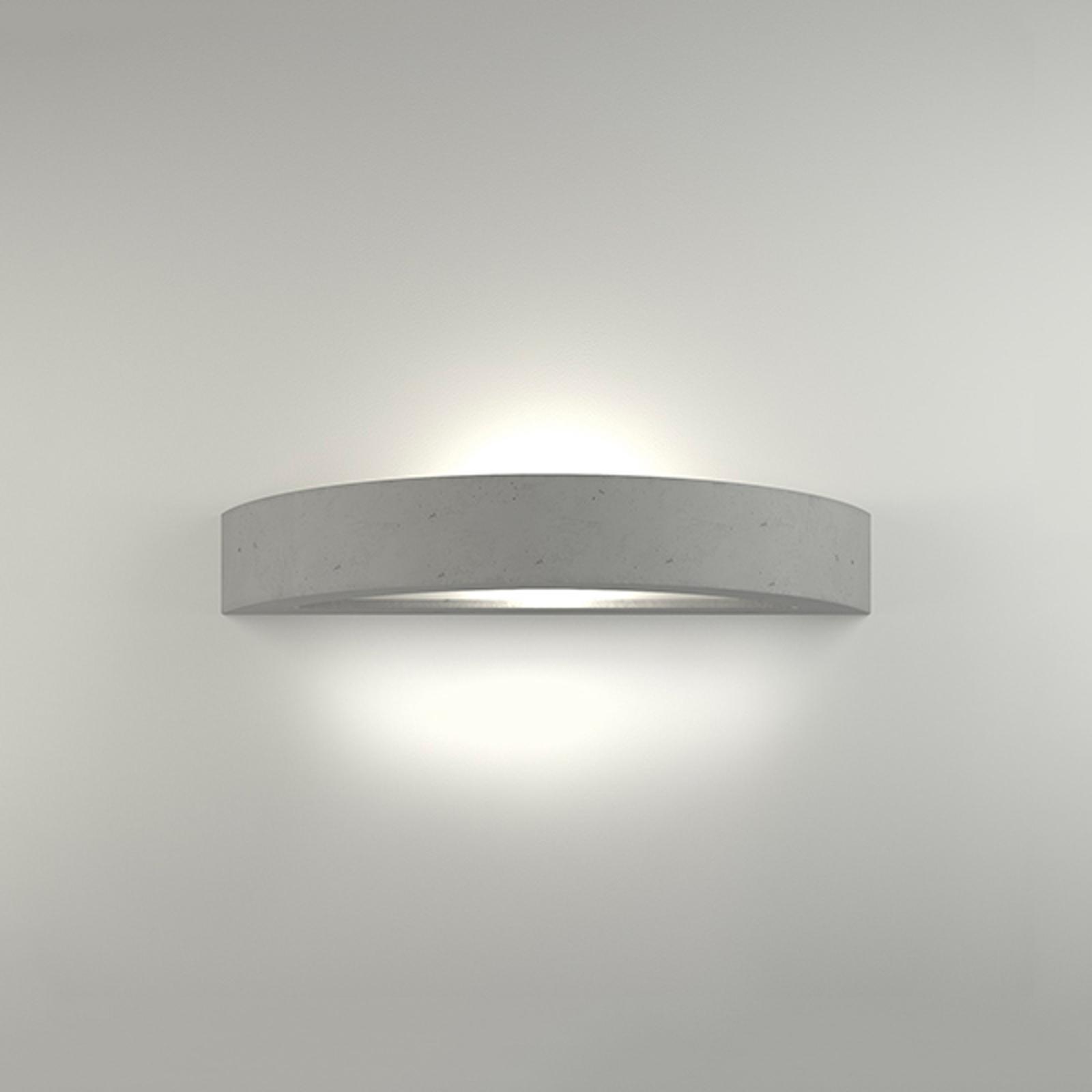 LED nástěnné světlo, 2455, beton, 3000 K, nestmív.