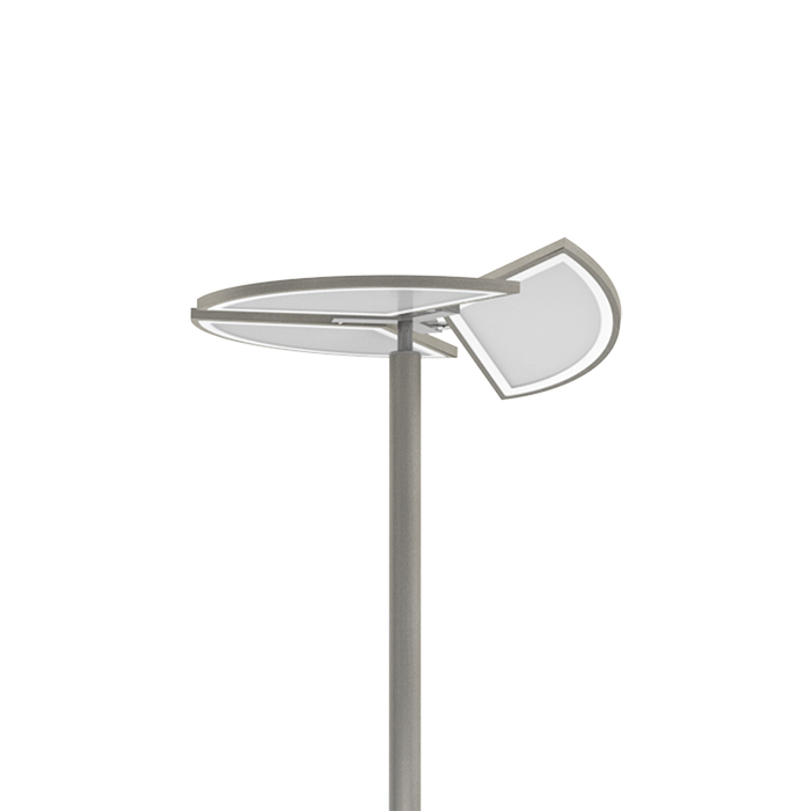 Lámpara LED de pie Movil con control del color