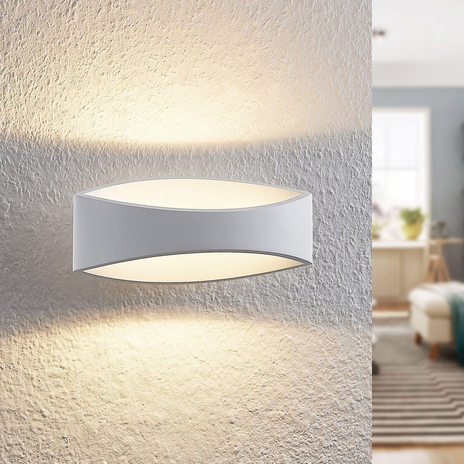 Arcchio Jelle applique LED, 25 cm, bianco