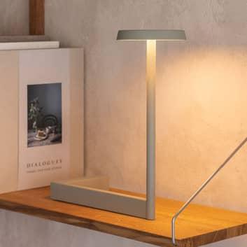 Vibia Flat LED stolní lampa z kovu, stmívatelná