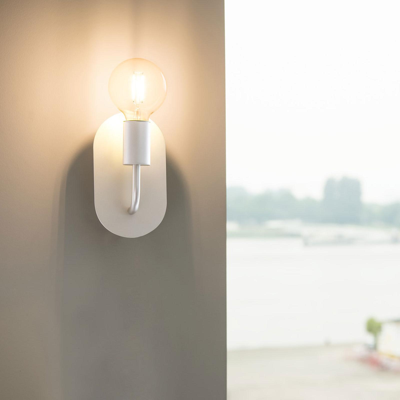 SLV Fitu væglampe, hvid