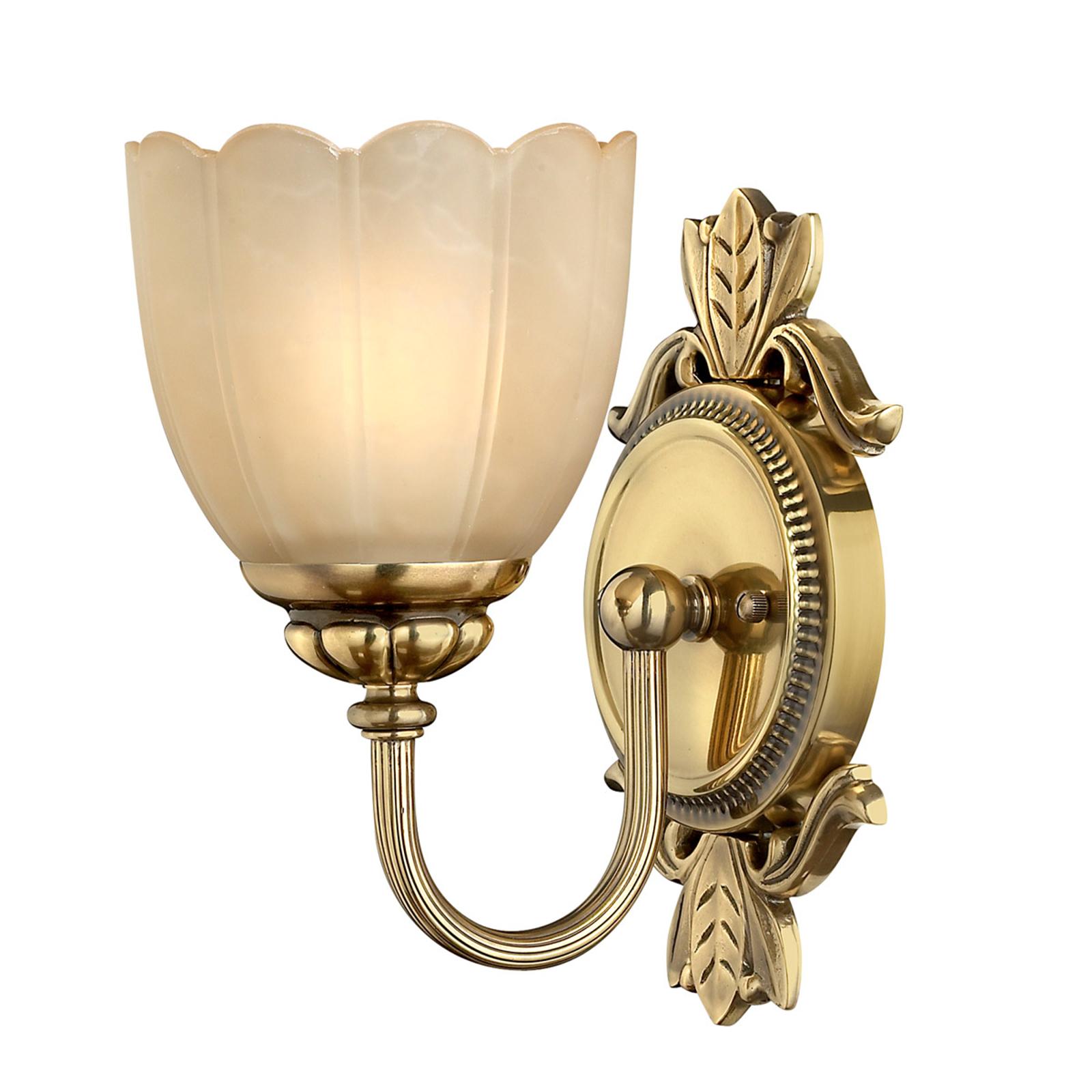 Koupelnové nástěnné světlo Isabella, ruční práce