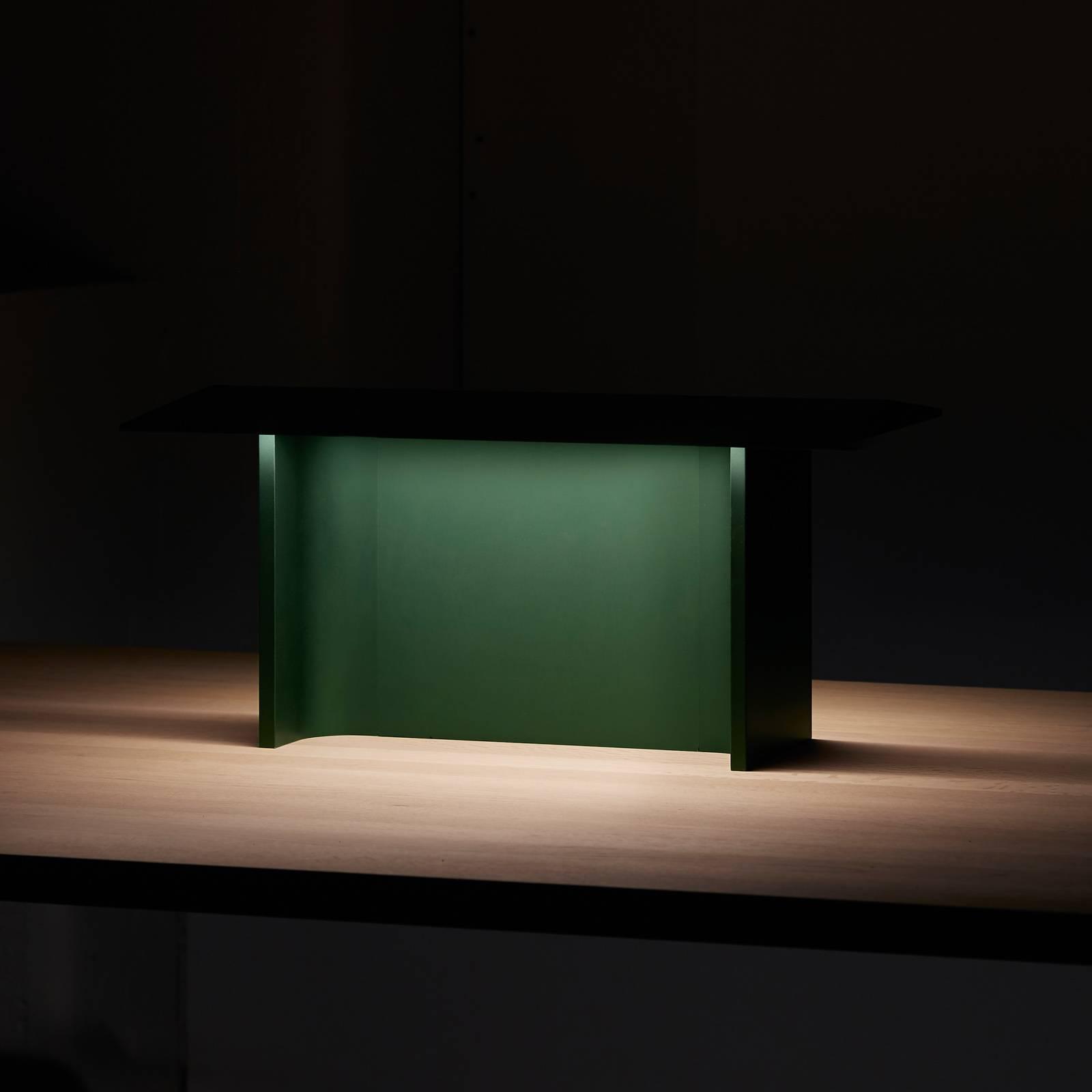 Luceplan Fienile lampada LED da tavolo, verde