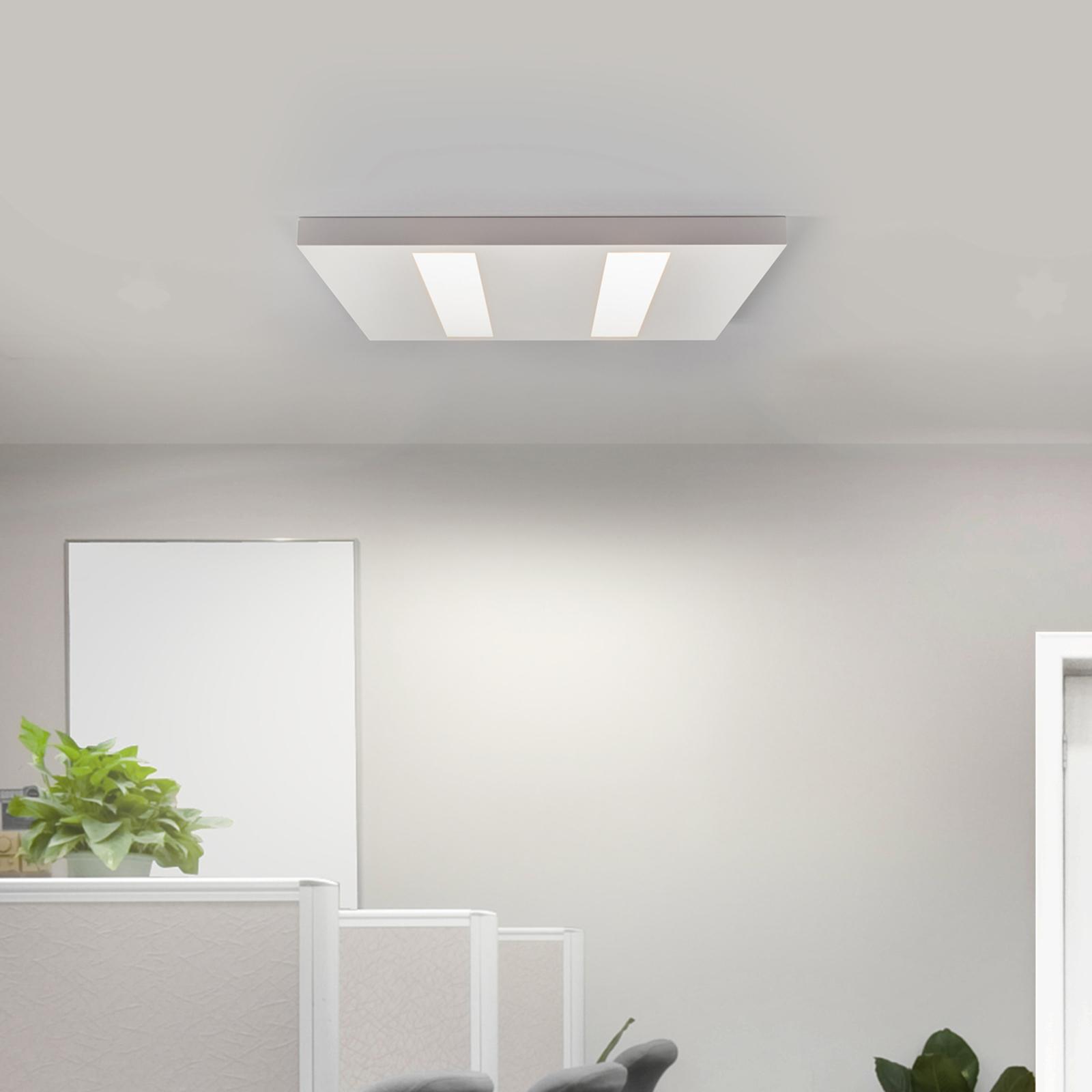 Dunne LED opbouwlamp 37 W wit, OSRAM-LED's