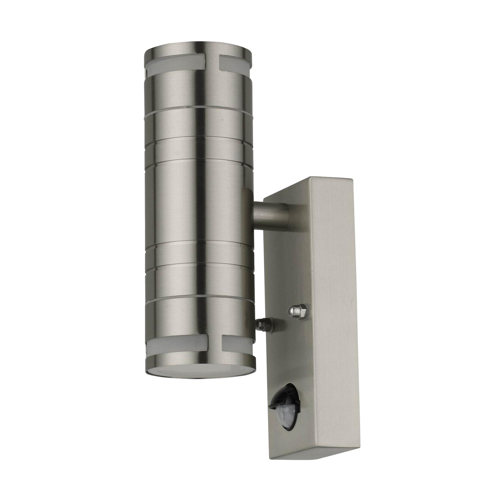 Lindby Catalin buitenwandlamp, sensor, 2-lamps