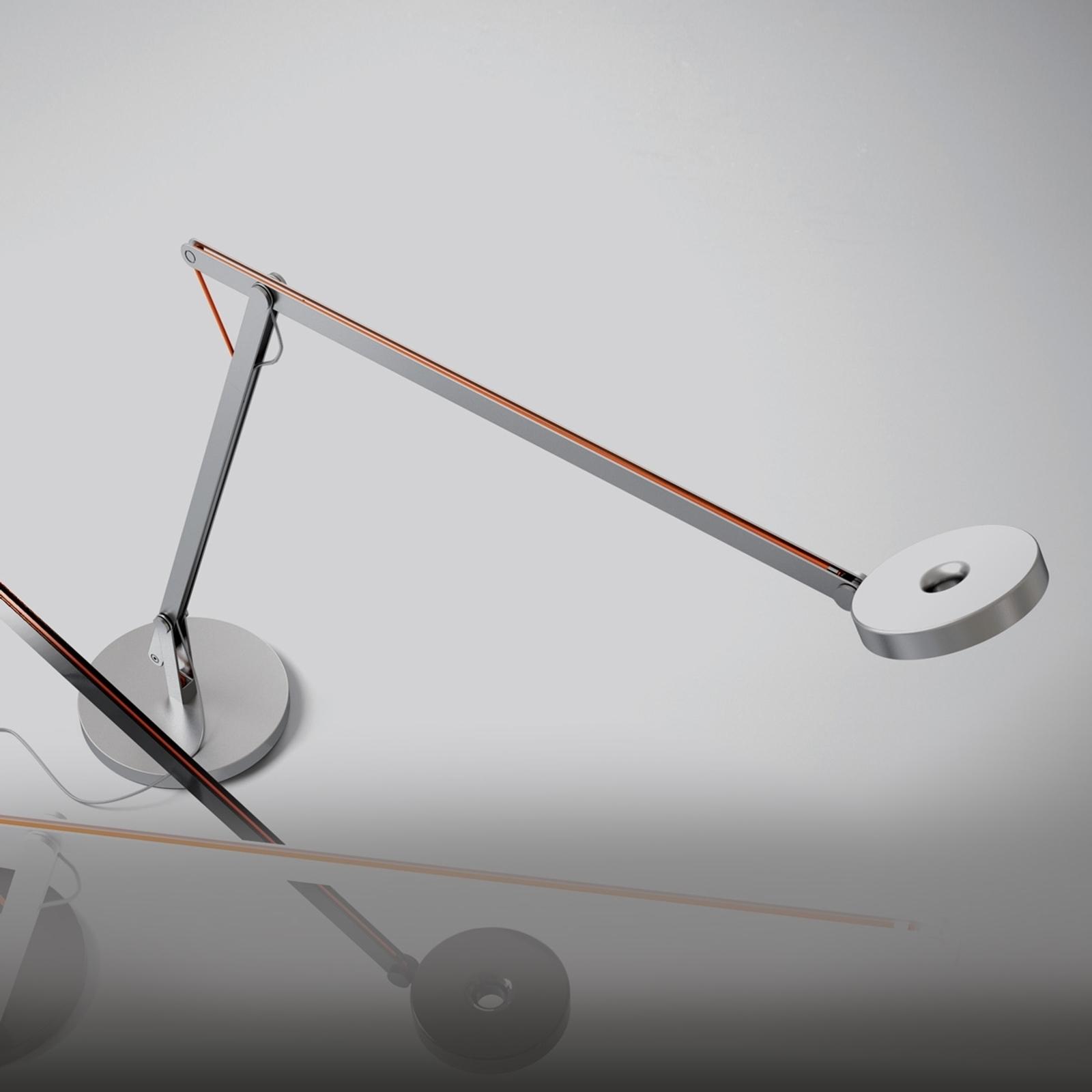 Rotaliana String LED-Tischleuchte, silber