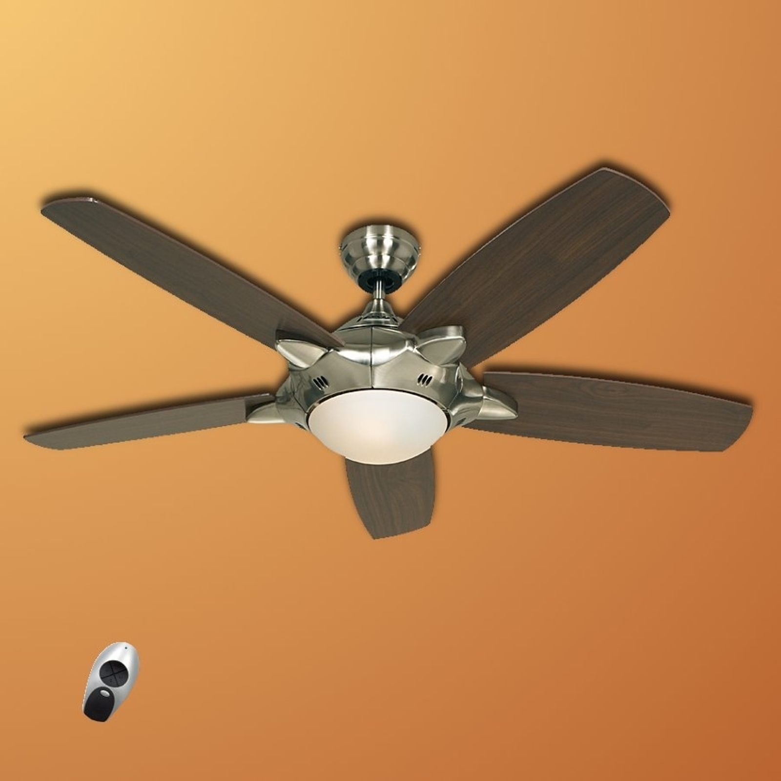 Oplyst loftsventilator Mercury