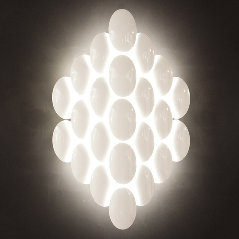 Milan Obolo - aplique LED atenuable - 16 luces