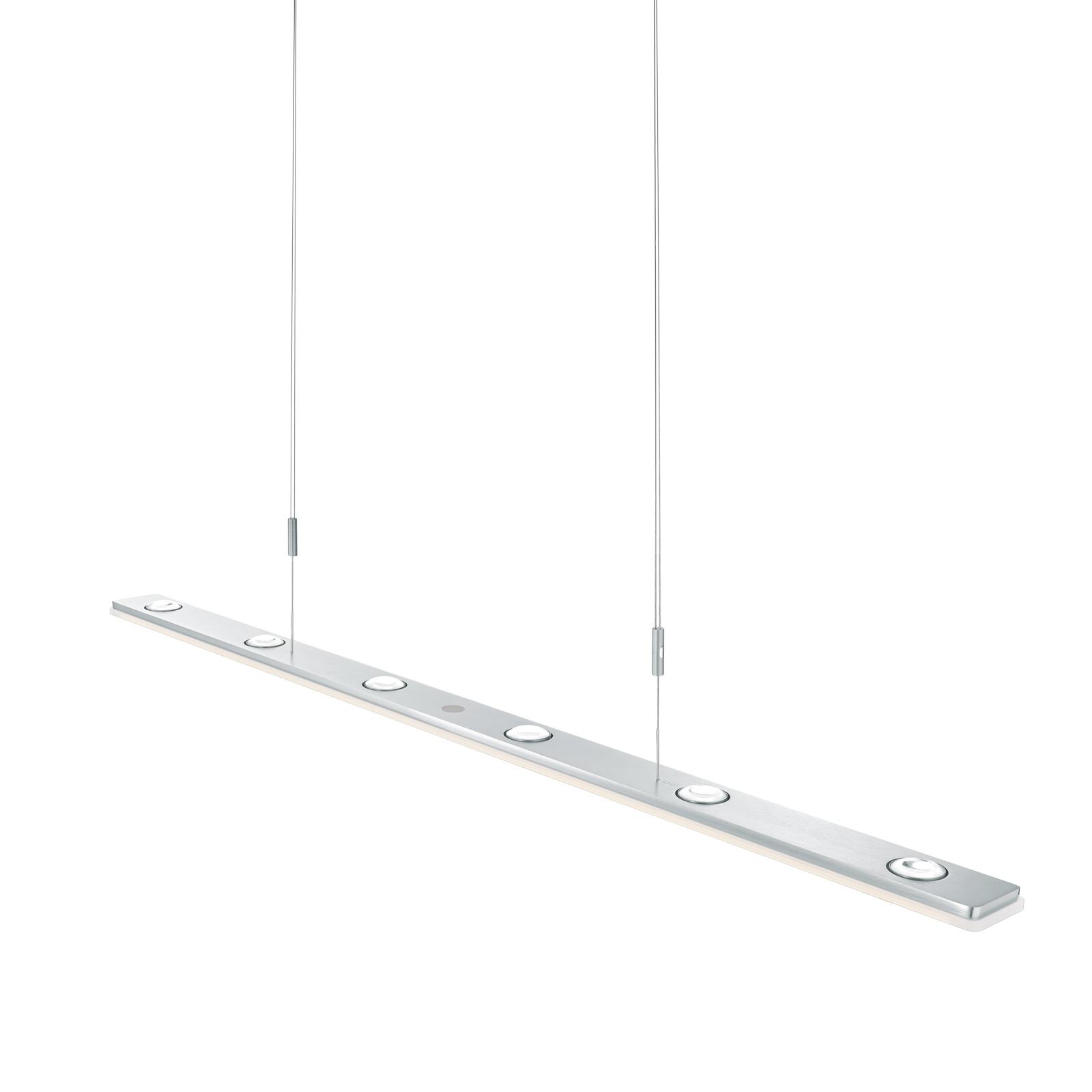 BANKAMP Caro LED-Hängeleuchte, aluminium