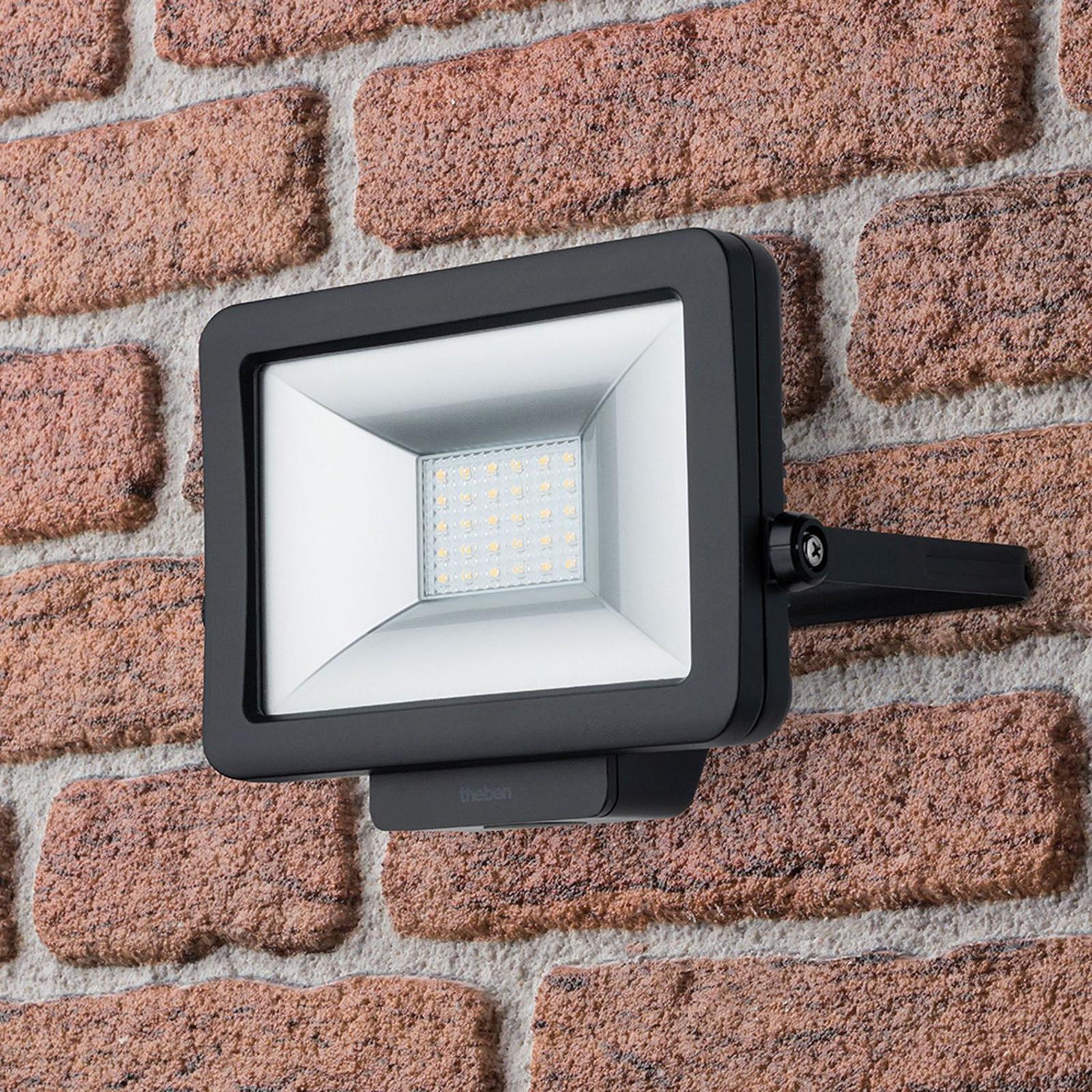 Theben theLeda B20L utendørs LED-spot, svart