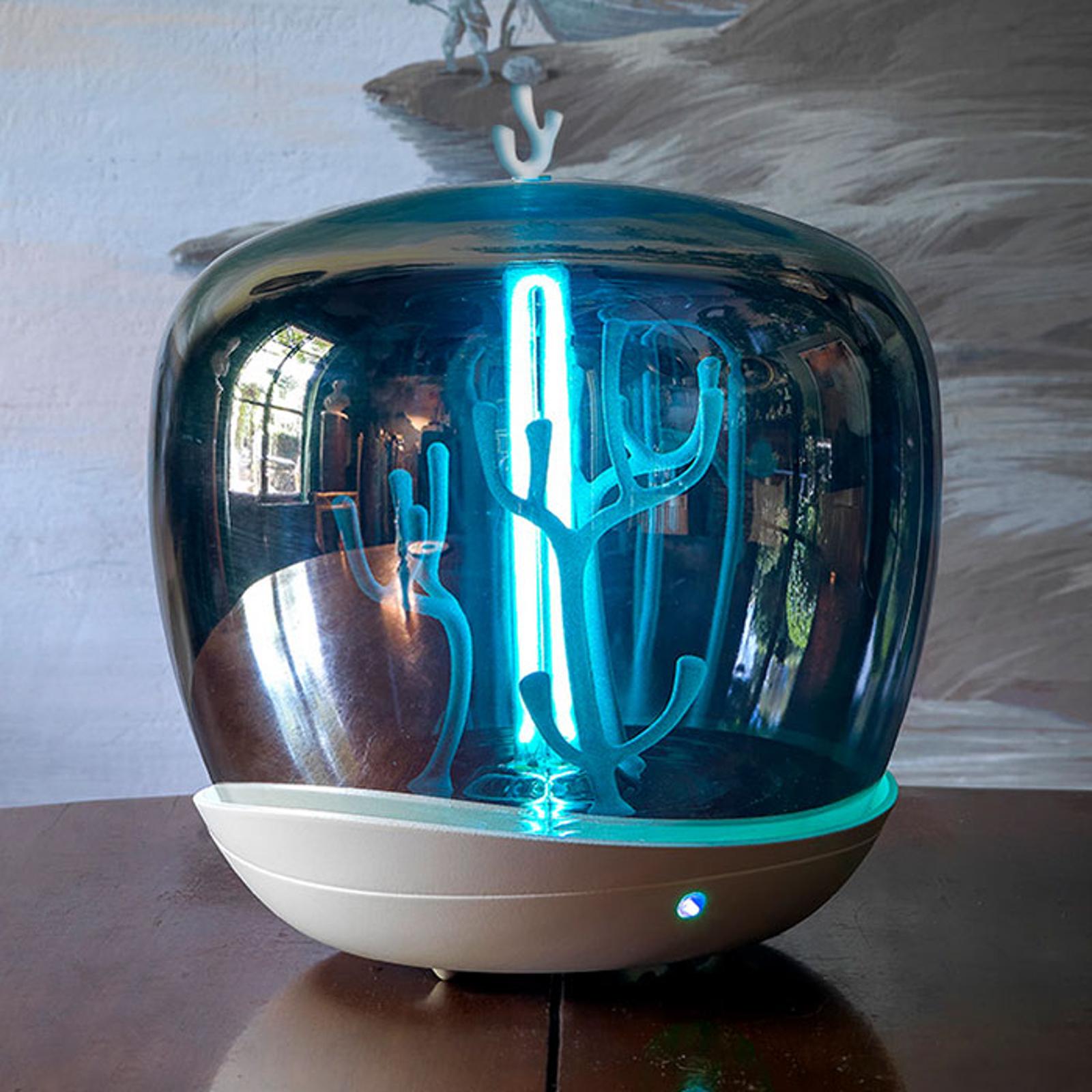 Slamp PurityCapsule LED-bordslampa, UV-C, vit