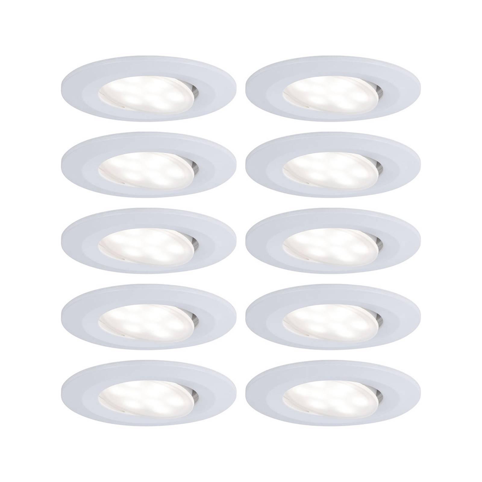 Paulmann LED reflektor wpuszczany Calla biały