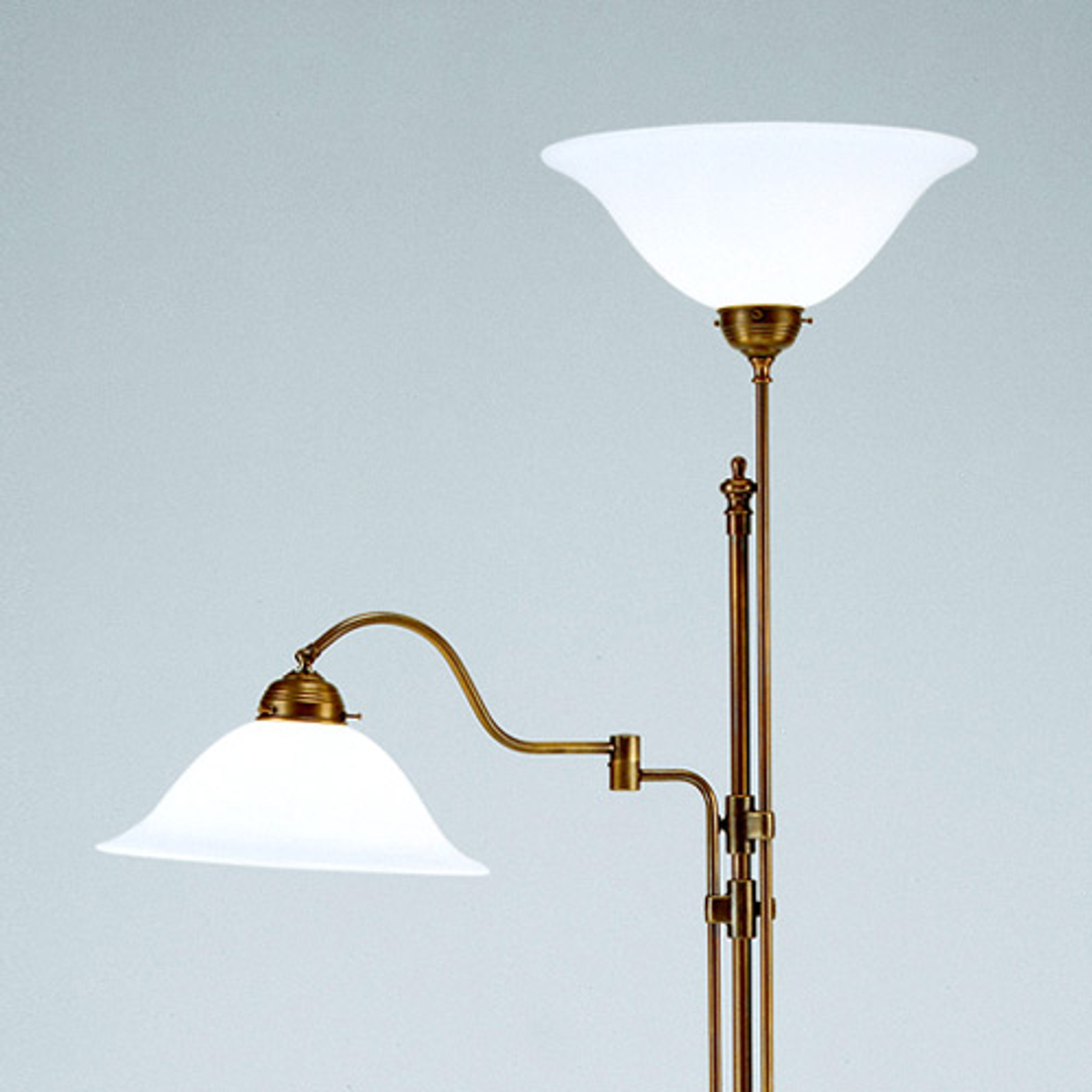 Dvoj-plameňové stropné svietidlo Gustav