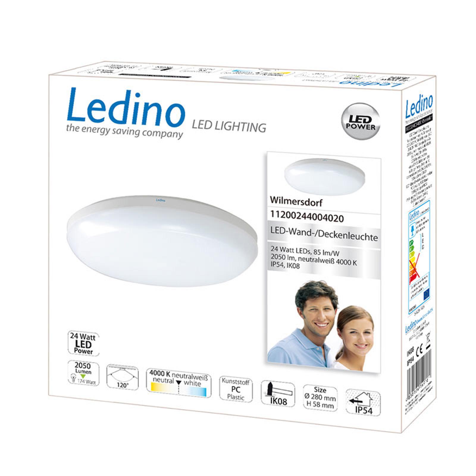Lámpara de pared LED Wilmersdorf IP54
