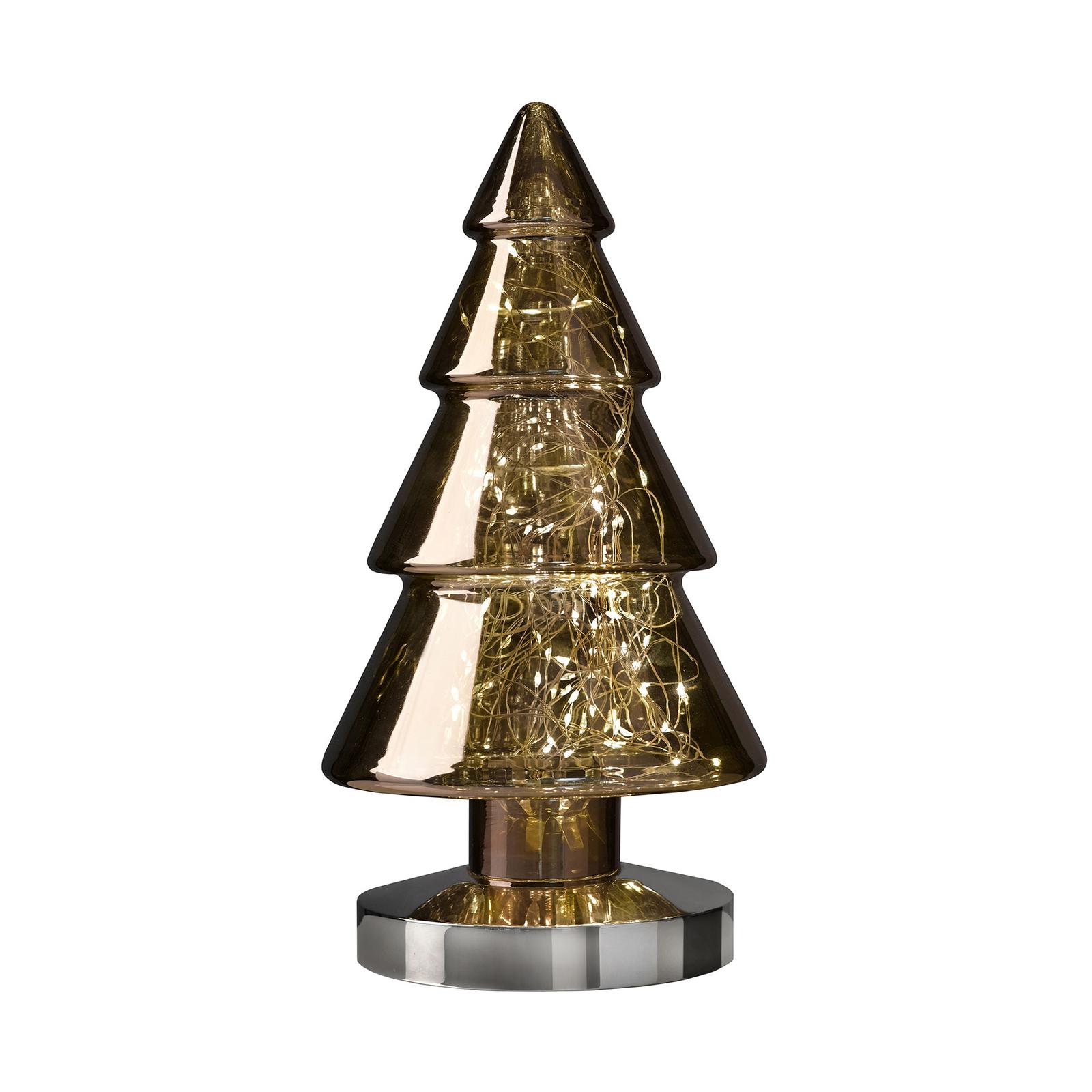 LED-dekorbelysning Ornament Baum, höjd 34 cm