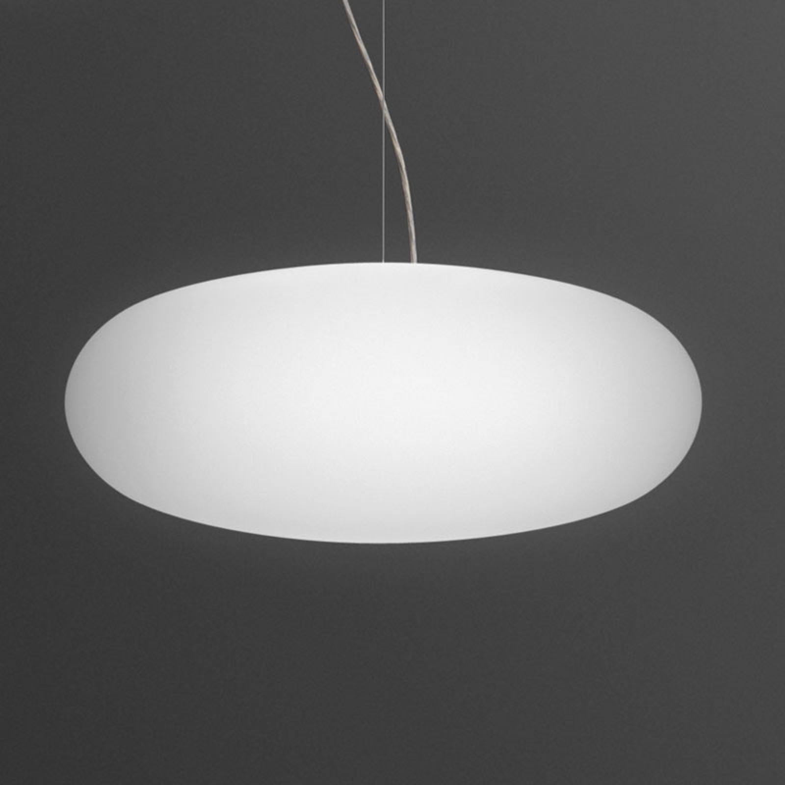 Vibia Vol 0225 lampa wisząca ze szkła, Ø 60 cm