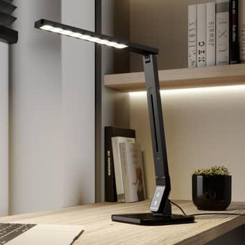Arcchio Liak lámpara de mesa LED 6.000K, negro