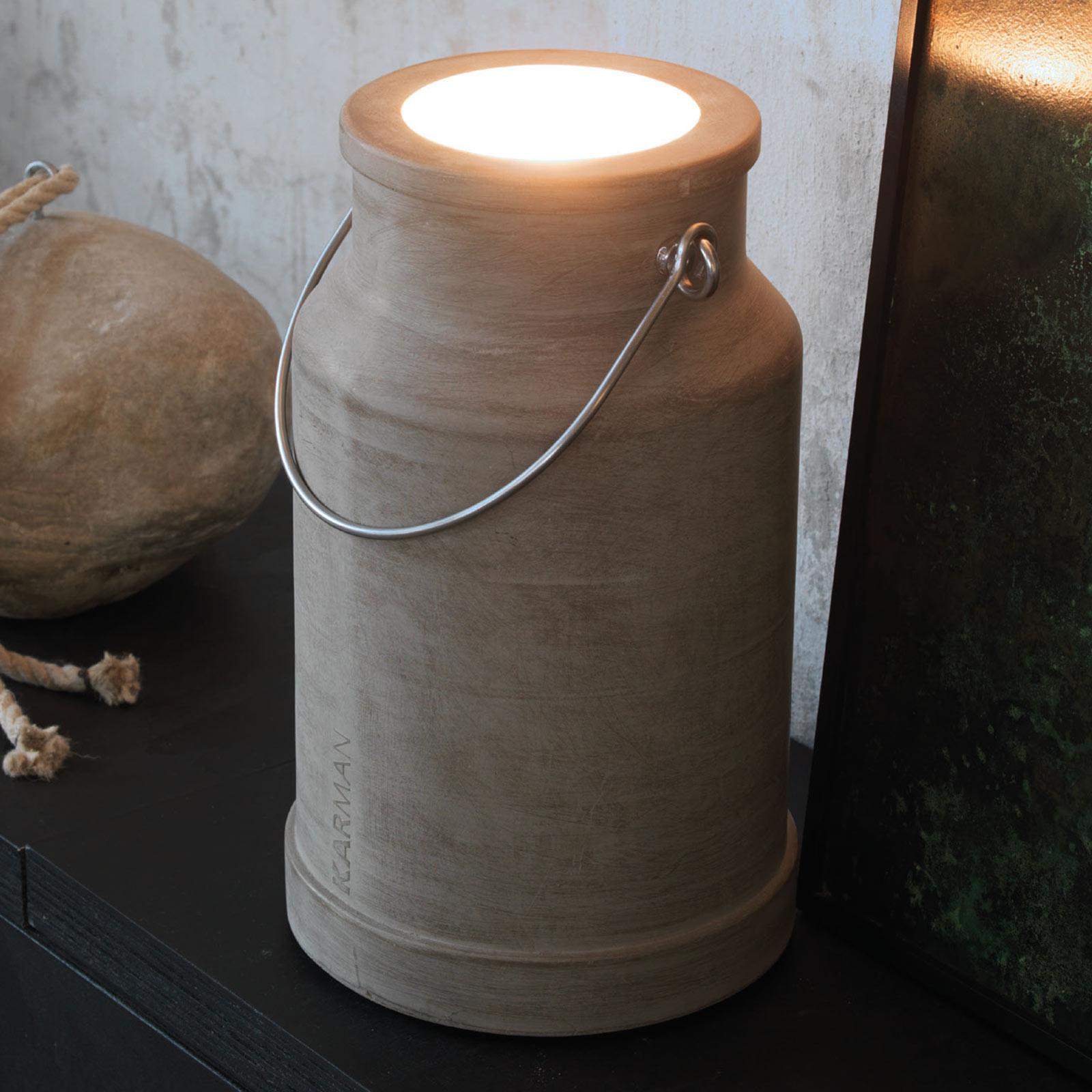 Karman Via Lattea - buiten-vloerlamp met handgreep
