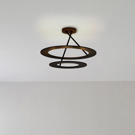 Bopp Stella LED-Deckenlampe 2 Ringe