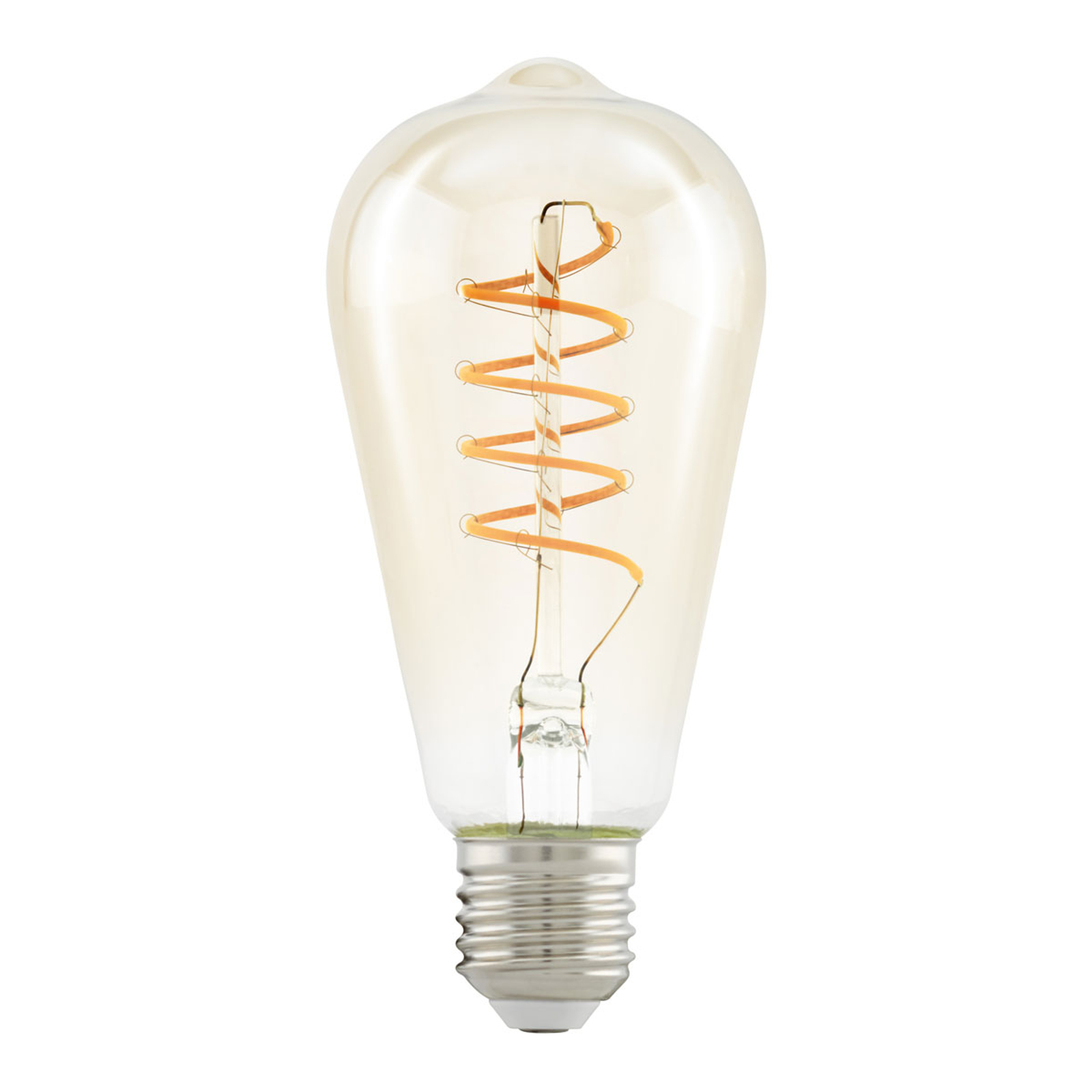 LED-Lampe E27 ST64 4W Spiral, warmweiß, klar kaufen